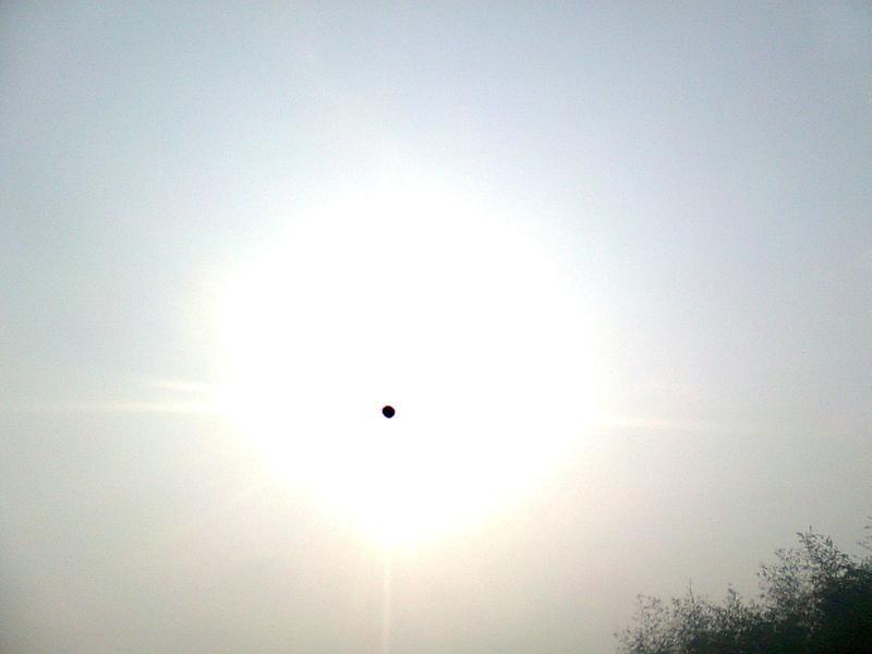 太阳中的小黑点